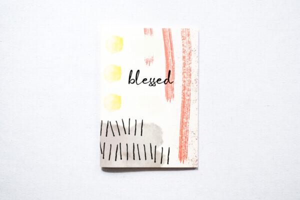 Jegyzetfüzet - Blessed - papír írószer