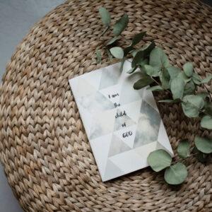 Jegyzetfüzet - Child od God - papír írószer