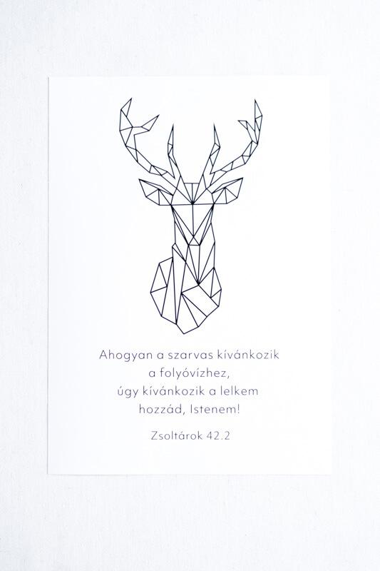 Idézetes Falikép - Szarvas