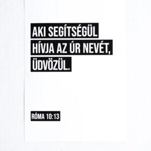 Biblia idézetes Falikép - Üdvözülés
