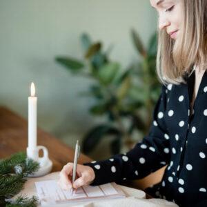Jegyzettömb - Elcsendesedő, Keresztyén témájú, Bibliai igeolvasást, elcsendesedést segítő - Csendesedő