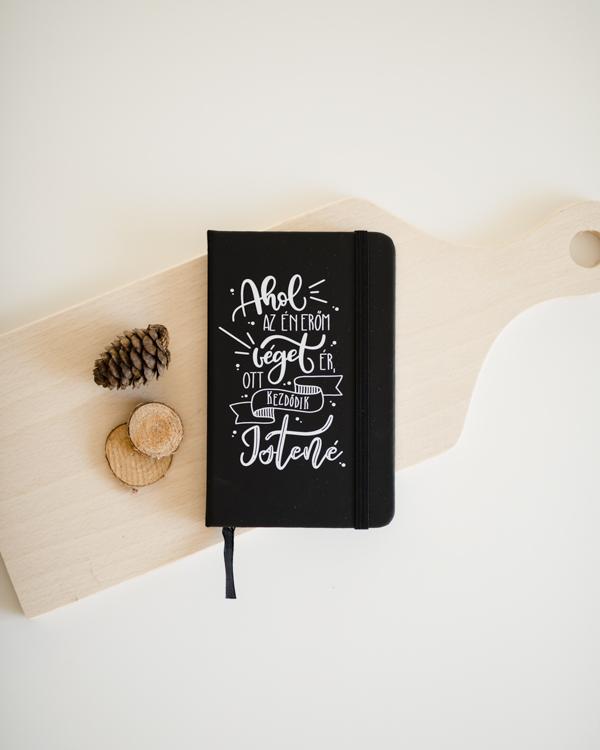 Jegyzetfüzet, füzet, a4, vonalas füzet, Istentisztelet jegyzet, napló - Az Én erőm