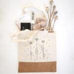 Vászontáska, bevásárló szatyor, natúr pamuttáska - Az Isten szeretet
