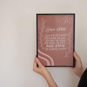 Házi áldás, otthonba, lakásba, falikép Csendesedő keresztény webshopból