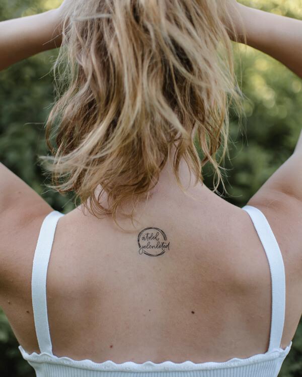 lemosható tattoo tetkó keresztény, fekete tattoo