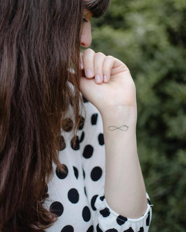 lemosható tattoo tetkó keresztény, örökké szeret Isten, kegyelem
