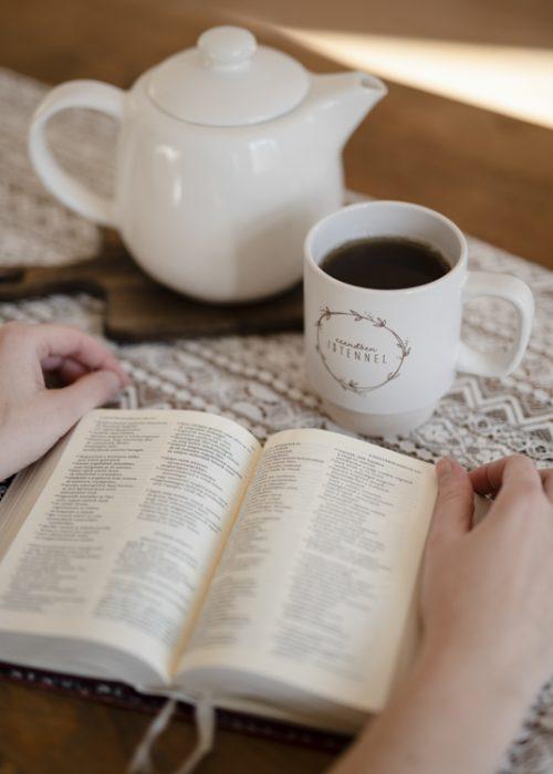 Bögre - Csendben Istennel - Keresztény felirattal